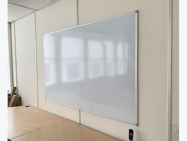 Large Dry Wipe White Board for sale.  Only £35