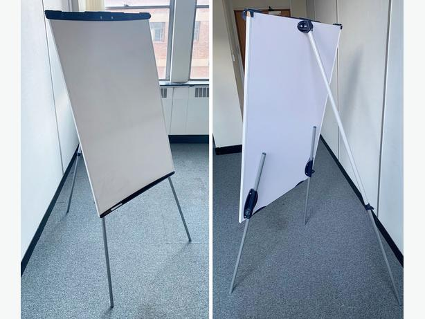 Office Wipe board (Freestanding A0)  (good condition) Only £30