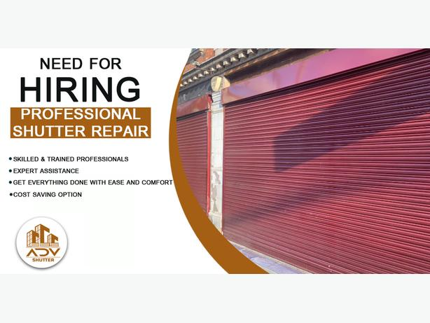 Roller Shutter Repairs - Advanced Shopfront & Shutters LTD