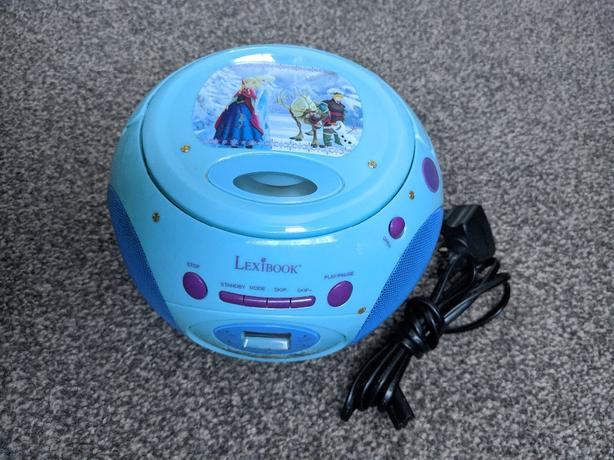 disney frozen cd player