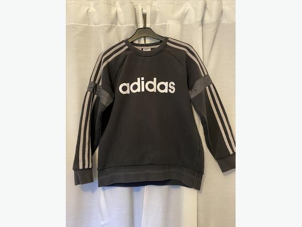 Black Adidas Jumper age 12-13 years