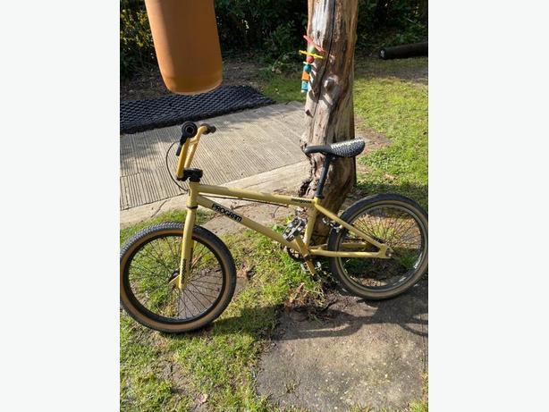 Yellow Mongoose Bike