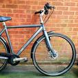 MBK Octane Touring bike,dual discbrakes,5 speed,700c wheels