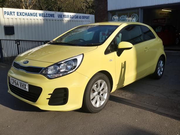 2015 KIA RIO 1.2 SR7 3 DOOR RARE COLOUR £30 ROAD TAX DRIVE AWAY TODAY
