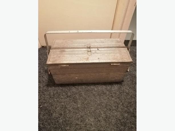 Antique Tool Box With Patina - Delivery - £50