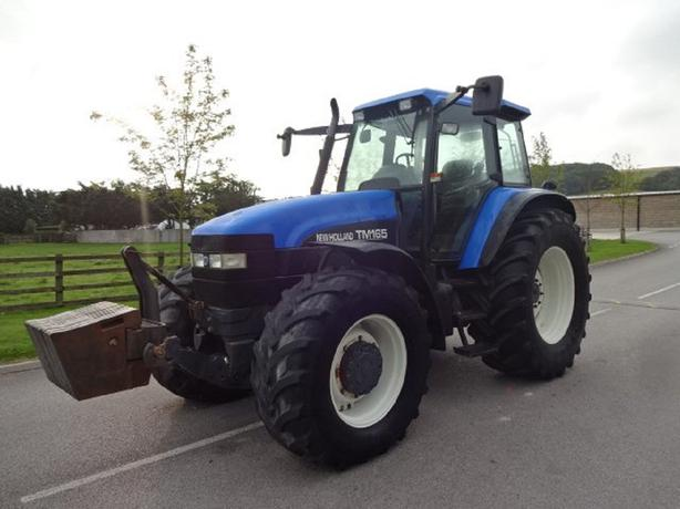 2001 NEW HOLLAND TM165 6179 HOURS