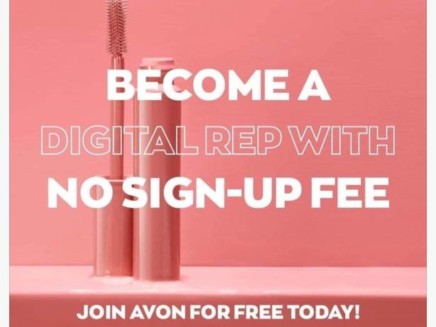 WANTED: digital avon reps needed