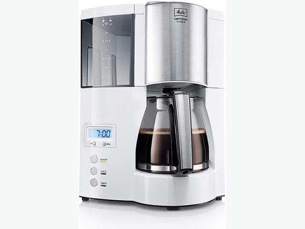 NEW Melitta Optima Timer Filter Coffee Machine - White| FREE DELIVERY