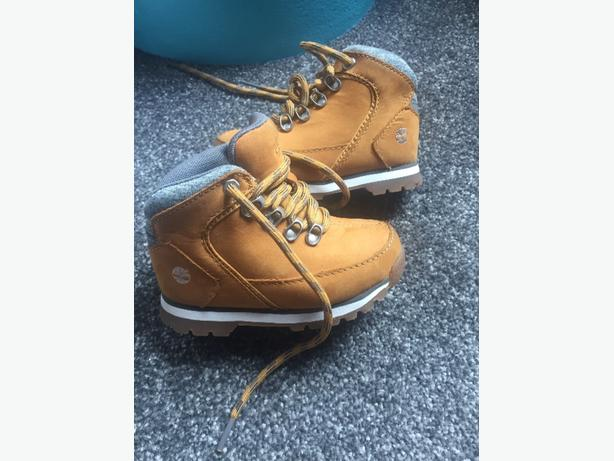 Childrens Real Timberlands - Size 8