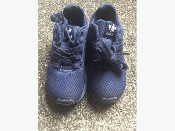 Navy blue adidas trainers - size 8