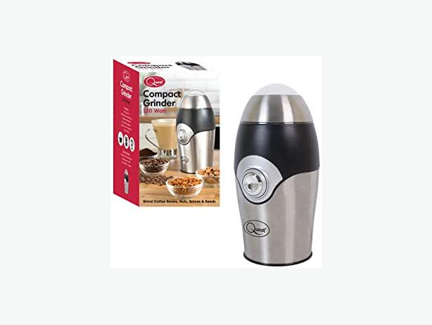 NEW Quest Wet & Dry Compact Stainless Steel Grinder| FREE DELIVERY