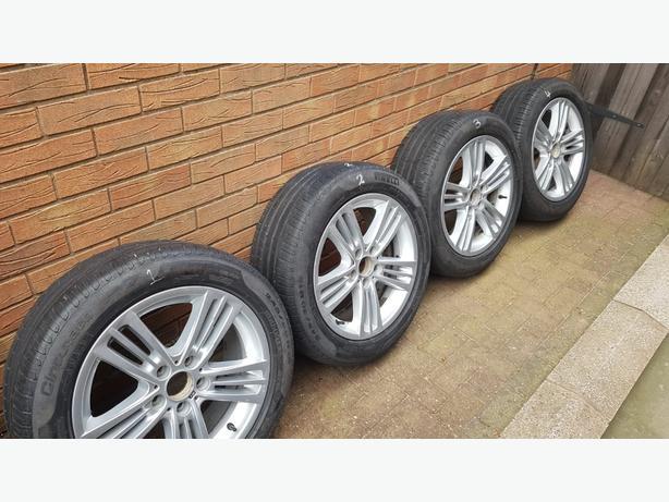 BMW X3 M Sport original wheels and tyres.