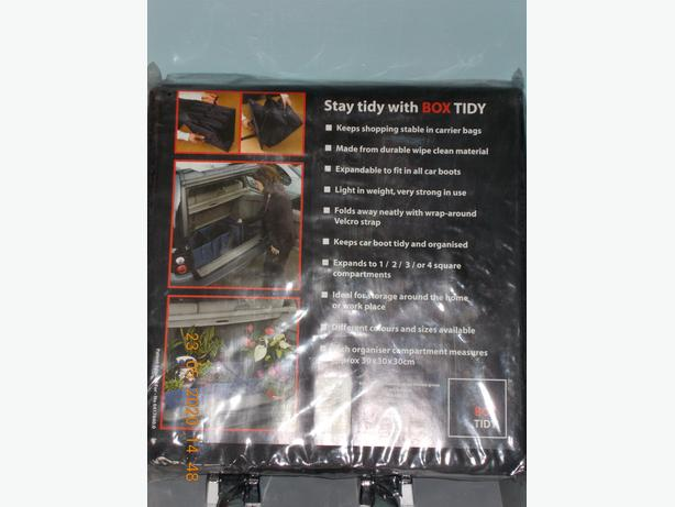 Car Boot Tidy Brand New Sealed