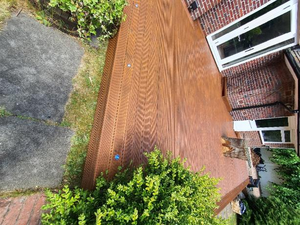 Decking supply and fit