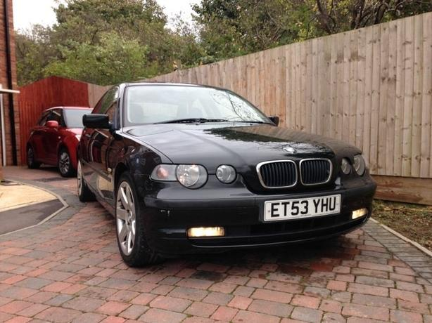 FOR TRADE:  bmw compact 320d