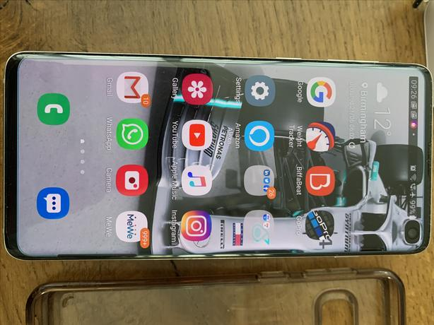 Samsung Galaxy S10 (Prism White) MINT CONDITION!!!!!!!!