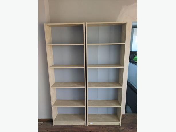Bookshelves in good condition - Collection Only
