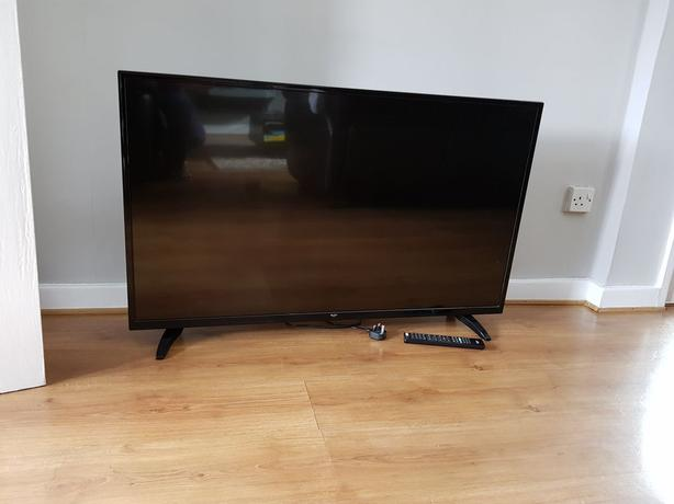 49 inch bush full hd 1080p led tv+freeview+brilliant+remote+DELIVERY