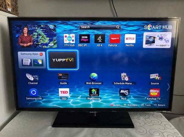 smart 40 inch samsung full hd led tv+built in apps+wifi via dongle+DELIVERY