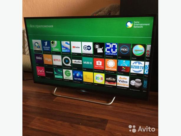 smart sony 40 inch full hd 1080p led tv+built in apps+wifi+remote+DELIVERY