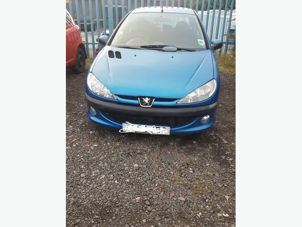 PEUGEOT 206 2003 1.4 FULL MOT LOW MILEAGE