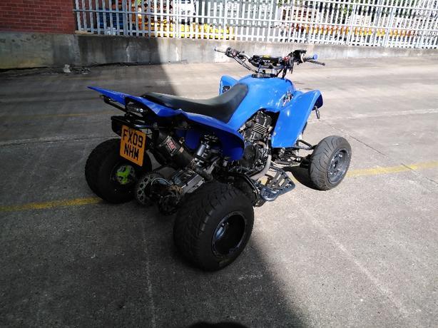 Gpz 500s Road legal quad bike