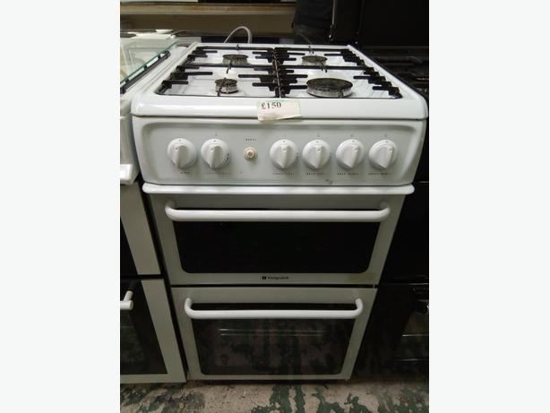 Hotpoint Gas Cooker 50 cm with 3 months warranty at Recyk