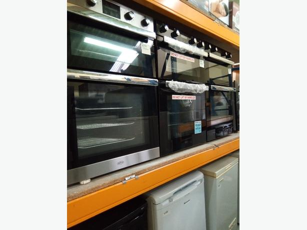 belling electric double oven graded 60 cm with 3 months warranty