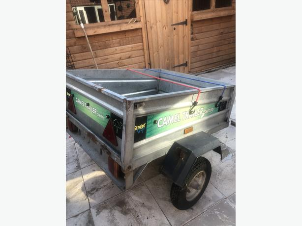 METAL TRAILER IN GOOD CONDITION