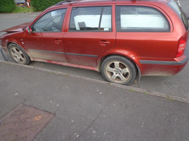 skoda octavia 53 reg 1.9 tdi diesel estate+FOR PARTS OR A GOOD EXPORT