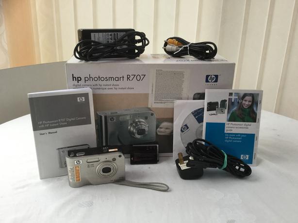 HP Photo smart R707Digital Camera