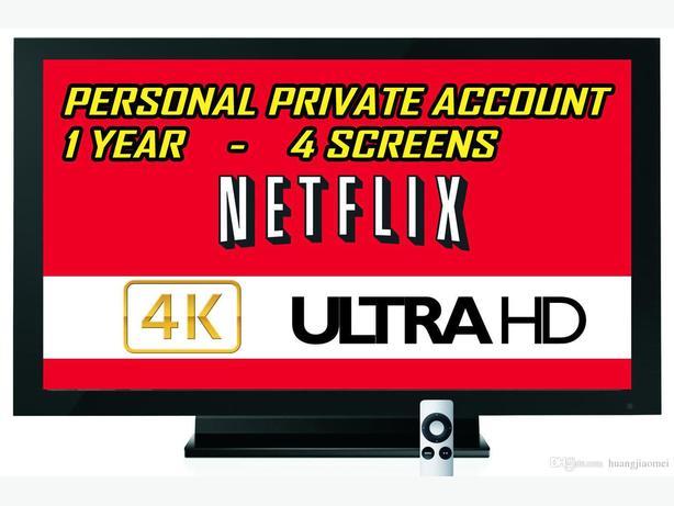 Netflix 4 screen