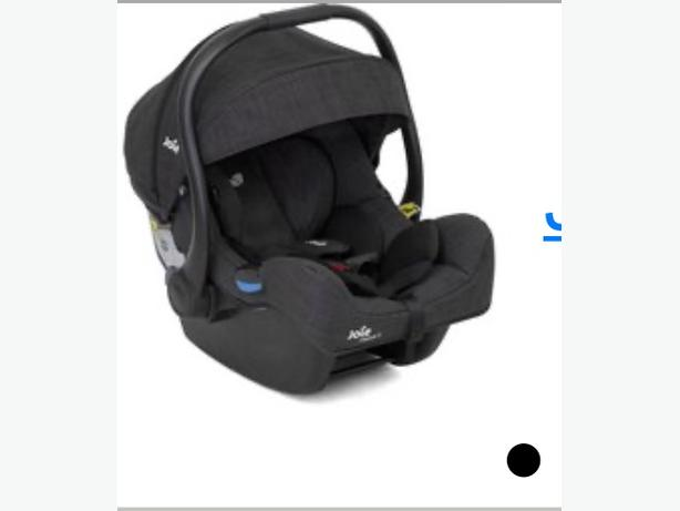 joie 1 gem 0+ carseat grey