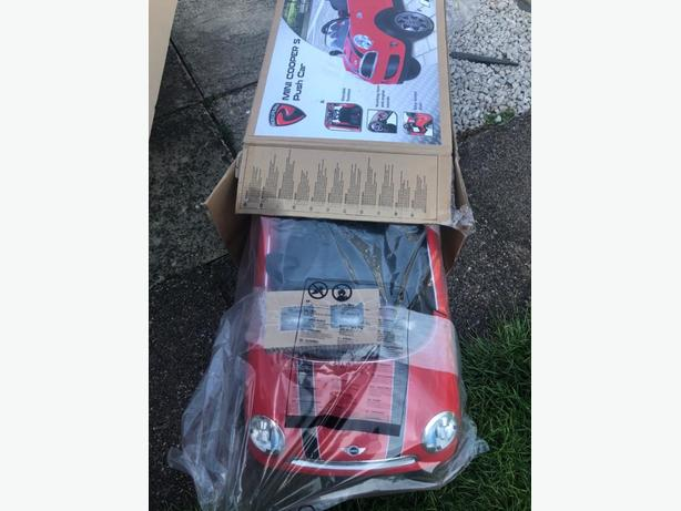 mini cooper s toy car