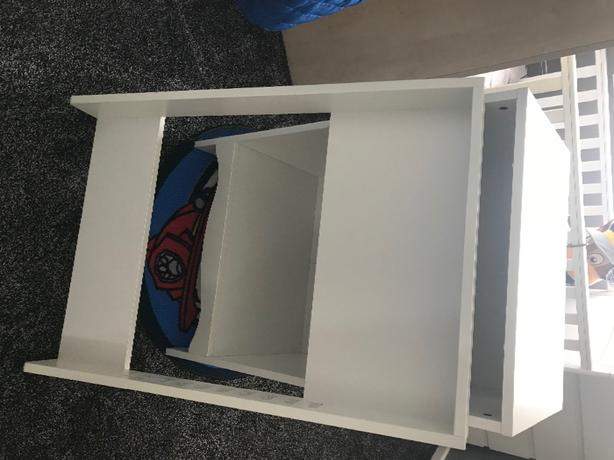 ikea baby changing unit/cupboard