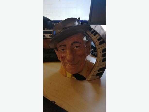 Royal Doulton character toby jugs. Jimmy Durante