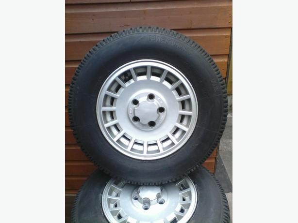 Ford granada alloys