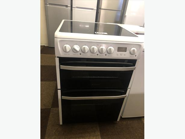 60CM HOTPOINT CERAMIC ELECTRIC COOKER WITH GUARANTEE 🌍🌍