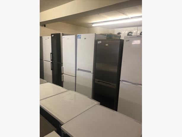 HUNDREDS OF FRIDGE FREEZERS FROM ONLY £145 WITH GUARANTEE