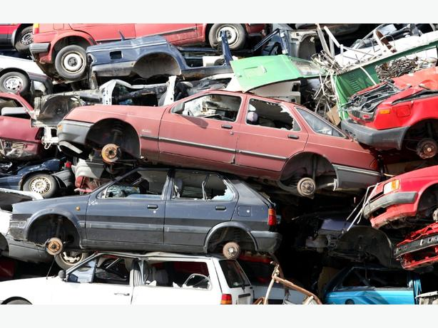 scrap cars or vans