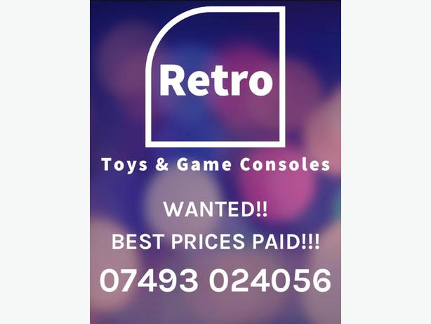 wanted toys and game consoles of all ages
