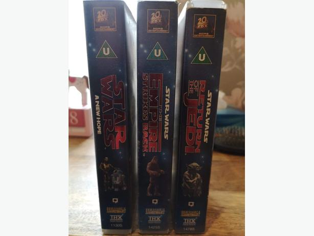 Star Wars VHS video