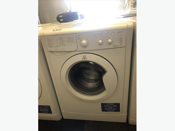 6 KG INDESIT WASHER - GREAT CONDITION- WITH GUARANTEE 🇬🇧🇬🇧