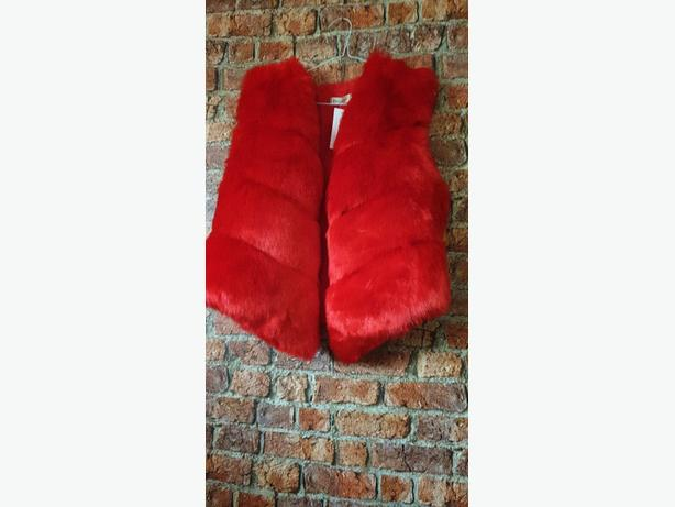 BRAND NEW* WOMENS FAUX FUR BODY WARMER