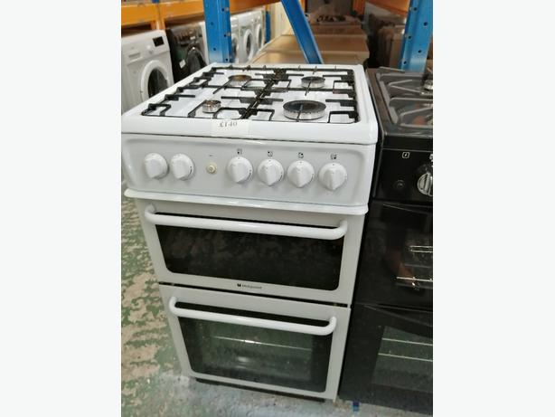 Hotpoint 50 cm gas cooker with warranty at Recyk Appliances