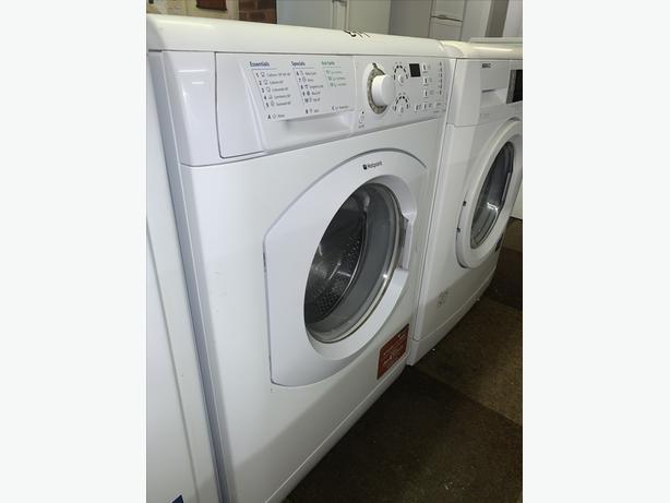 PLANET APPLIANCE - 7KG WHITE HOTPOINT WASHER WASHING MACHINE COMES W WARRANTY