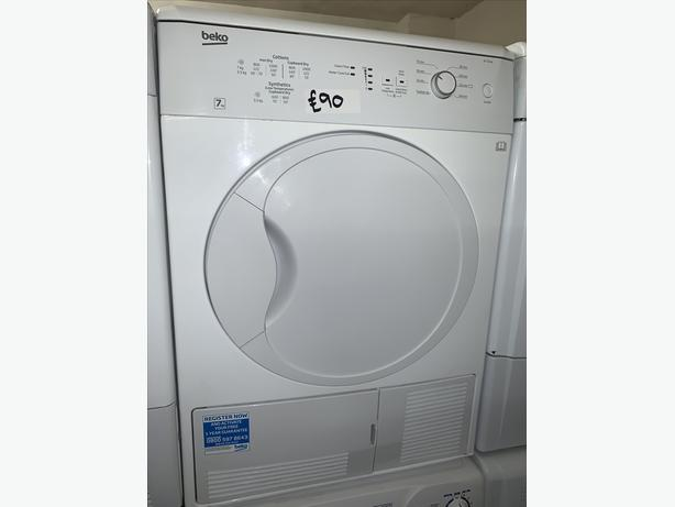 PLANET APPLIANCE - 7KG LOAD WHITE BEKO CONDENSER DRYER
