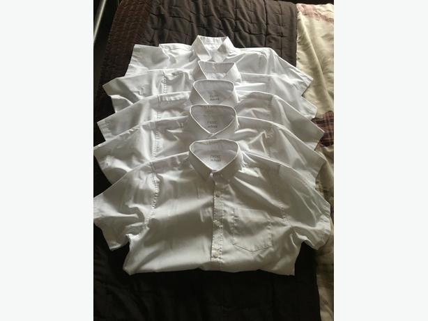 5 x Next Boys School Shirts age 13