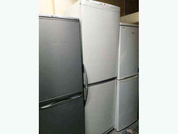 Hoover tall fridge freezer with warranty at Recyk Appliances