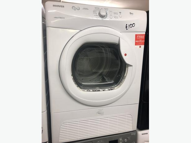 9 KG HOOVER CONDENSER TUMBLE DRYER WITH GUARANTEE 🇬🇧🇬🇧
